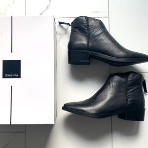 Dolce Vita Taira Leather Booties